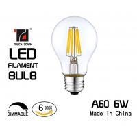 Buy cheap High Shock Resistant LED Filament Bulb Eco Friendly Material Instant On Style from wholesalers