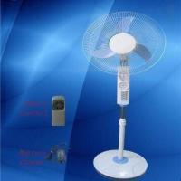 Buy cheap Rechargeable Fan with LED Lamp, Slar Fan Suitable for Household Use and Outdoor Application from wholesalers