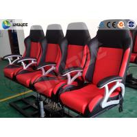 Buy cheap Pneumatic System 6d Motion Theater With Spary Water , Sweep Leg , Can Holding 200 People product