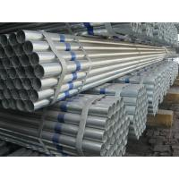 Buy cheap Hot Dipped Galvanized Steel Products , 1/8 -24 Sch40 Galvanized Steel Pipe from wholesalers