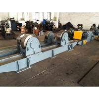 Buy cheap 200 Ton Pipe Welding Rotator Tank Turning Rolls Wireless Control With Metal Roller from wholesalers