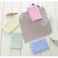 Buy cheap 6 Colors Custom Plain Tea Towels , Eco - Friendly Waffle Weave Kitchen Towels  from wholesalers