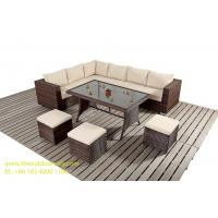 Buy cheap PE Wicker Rattan Sofa / Chair, Outdoor Sectional Sofa Set, Rattan Garden Furniture, from wholesalers