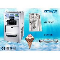 Buy cheap Floor Type Small Commercial Soft Serve Ice Cream Machine 3 Flavors 25 Liters/Hour from wholesalers
