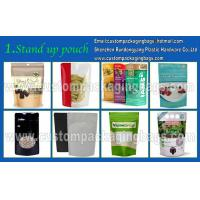 China Plastic Custom Packaging Stand Up Resealable Pet Food Bag With Zipper on sale