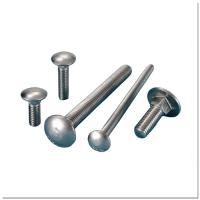 Buy cheap DIN603 Galvanised Steel Bolts , Exterior Carriage Hardened Carriage Bolts Chrome from wholesalers