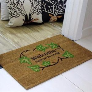 Buy cheap Brown Coir Entrance Matting , Coir Logo Mats Healthy Environmental Function product