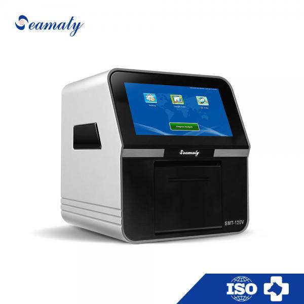 Quality Efficient Veterianary Blood Chemistry Analyzer , Table Top Automatic Chemistry Analyzer for sale