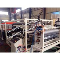 Buy cheap waterproof,fire proof,anti-corrosion,flame retardant pvc glazed roof tile production line product