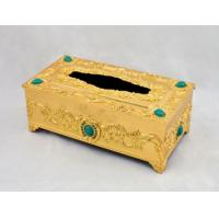 Buy cheap Metal Tissue Box Paper Box Home Decoration from wholesalers
