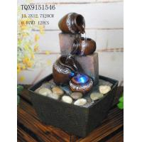 Buy cheap Small Table Water Fountain For Home Decor , Tabletop Waterfall Fountain With Light from wholesalers