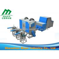 Blue Sofa Making Fiber Ball Machine / Polyester Fiber Opening Machine