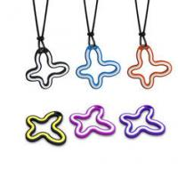Buy cheap Pink / Purple / Orange / Bkack high-tech health  Silicone Pendant Necklace from wholesalers