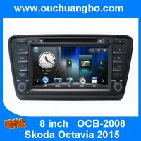 Buy cheap Ouchuangbo car dvd radio navigation system Skoda Octavia 2015 support iPod BT phonebook fa from wholesalers