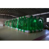 Buy cheap Green Large PVC Tarpaulin Inflatable Garden Party Tent with Fireproof and Durable from wholesalers
