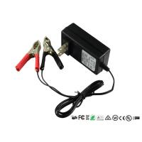 Buy cheap Intelligent 12V Sealed Lead Acid Battery Charger With Alligator Clips from wholesalers