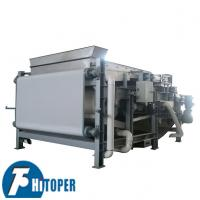 Buy cheap Rotary Drum Dehydrating Filter Press Machine Waste Water Treatment Usage product