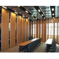 Buy cheap Operable Auditorium Sound Proof Floor To Ceiling Movable Partition Walls from wholesalers