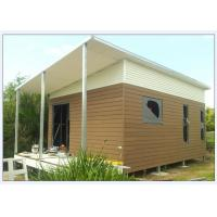 China Australia Style Prefabricated House Kits , Modern Prefab House With WPC cladding on sale