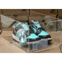 Buy cheap Crystal clear Acrylic Shoe Display case,Crystal Acrylic Shoe box from wholesalers