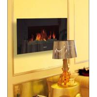 Buy cheap Fire flame Flat Tempered Glass Wall Mounted Electric Fireplace Heater EF420S Log Chimenea EF420SK/EF420SL ROOM HEATER product