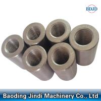 Buy cheap mental building material parallel thread steel rebar coupler from wholesalers