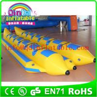 Buy cheap Hot sale inflatable fly fish banana boat inflatable adult boat for water park from wholesalers
