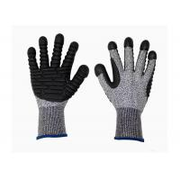 Buy cheap HPPE Cut Proof Gloves Heavy Duty Knitted Safety Gloves With TPR Palm from wholesalers