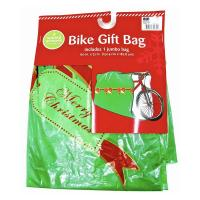 Buy cheap Christmas Gift Bag Jumbo Giant Large Bike Bicycle Plastic Poly Bag for Kids from wholesalers