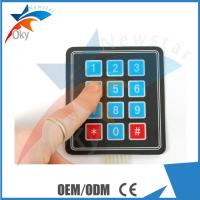 Buy cheap 3 × 4 matrix keyboard Breadboard For Arduino membrane switch Extended Keyboard from wholesalers