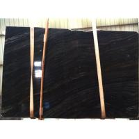 Buy cheap Black Wood Vein Marble Slabs & Tiles, China Black Marble from wholesalers