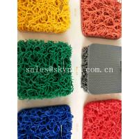 Buy cheap PVC Coil Outdoor Non - Slip Rubber Mats Double Colorful PVC Mat For Swimming Pool from wholesalers