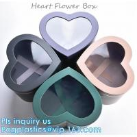 Buy cheap Different Design Cardboard Luxury Packaging Box For Flowers with custom Logo,GIFT SET BOX,KEY CHAIN BOX,HEART FLOWER BOX from wholesalers