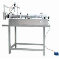 Buy cheap 60-1000m Semi-automatic Self-suction Cosmetic Filling Machine for  Ointment / Cream from wholesalers