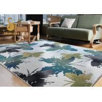 Buy cheap Comfortable Cut Pile Polyester Rug / Floor Carpet Underfelt For Home Decoration from wholesalers