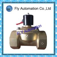 Buy cheap DN100 4 Inch  Water Pressure Valves Threaded 2 Way Brass 2/2 way AC220V DC24V from wholesalers
