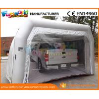 Buy cheap PVC Tarpaulin Inflatable Party Tent Paint Spray Booth Inflatable Car Wash Tent from wholesalers