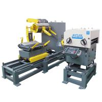 Buy cheap Pneumatic Punching Decoiling And Straightening MachineWith Power Press Machines from wholesalers