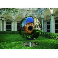 Eyeball Design Steel Artworks Artists Sculpture For Garden Decoration