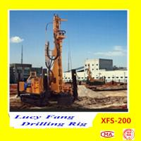 Buy cheap China Hot Multi-function XFS-200 Mobile Hydraulic Foundation CFA Earth Auger Drilling Rig from wholesalers