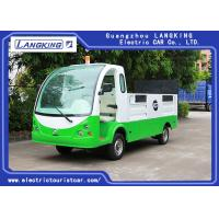 Buy cheap 72v Controller 1.2 Ton Two Seater Electric Car , Electric Hotel Buggy Car With Cargo from wholesalers