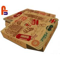 Buy cheap High Safety Paper Food Packing Box Matt Lamination Surface Finish For Pizza from wholesalers