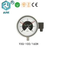 China Low Pressure Natural Gas Test Gauge , Electric Contact Manometer Pressure Gauge on sale