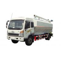 Buy cheap FAW brand 4*2 LHD 20M3 farm-oriented bulk feed tank truck for sale, Hot sale FAW 10tons livestock animal feed truck from wholesalers