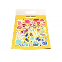 Buy cheap Self Adhesive Paper Sticker Book For Kids OEM Offset Printing Pattern Logo from wholesalers