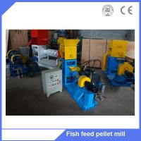 Buy cheap floating fish feed extruder machine / floating fish feed machine with good quality from wholesalers