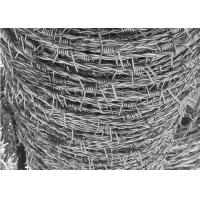 Buy cheap Security 12-1/2 Gauge 4 Points High Tensile Barbed Wire Galvanized Fence for Rust Prevention from wholesalers
