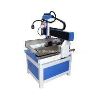 Buy cheap 600*600mm Cast Iron CNC Metal Carving Machine with 4th Axis DSP Control product