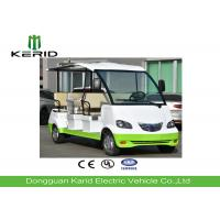 Buy cheap Fiber Glass Body Electric Recreational Vehicles , 8 Seats Electric City Tourist Bus from wholesalers