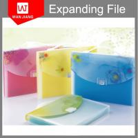 Buy cheap Shenzhen Factory competitive price 13pockets PP foam expanding file folder from wholesalers